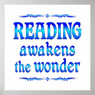 La lectura despierta impresiones