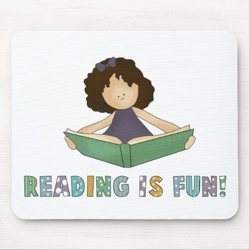 ¡La lectura es diversión! Alfombrilla De Ratones