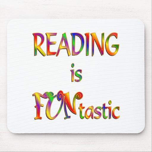 La lectura es Funtastic Tapetes De Ratón