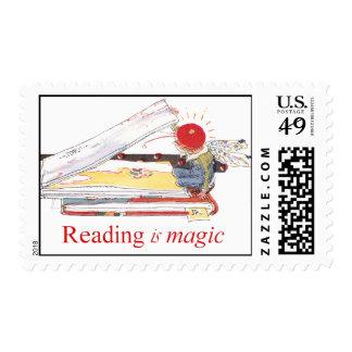 La lectura es mágica franqueo
