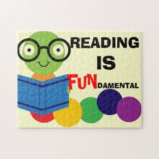 La lectura es rompecabezas fundamental