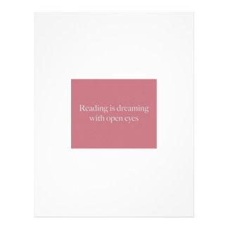 La lectura está como… membretes personalizados