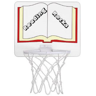 La lectura oscila el mini aro de baloncesto minicanasta