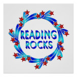 La lectura oscila la diversión poster