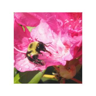 La lengua de las abejas impresión en lienzo
