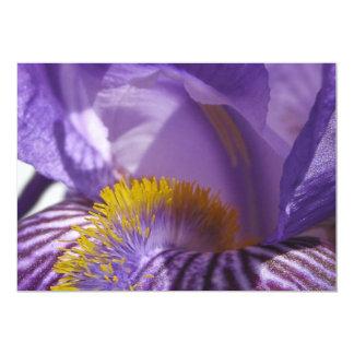 La lengua de los iris invitación