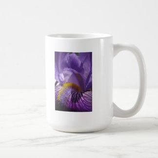 La lengua de los iris taza