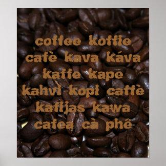 La lengua del café posters