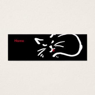 La lengua del gato tarjetas de visita mini