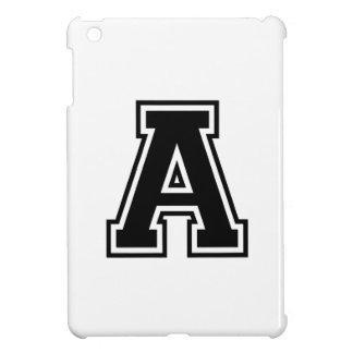La letra A, alfabeto colegial iPad Mini Fundas