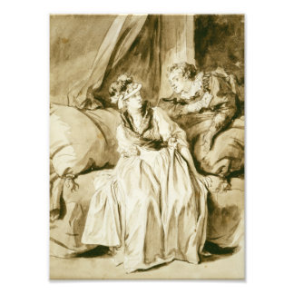 La letra (conversación española) por Fragonard Fotografias