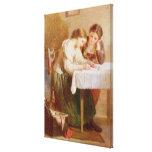 La letra de amor, 1871 impresion de lienzo