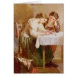 La letra de amor, 1871 tarjeta de felicitación