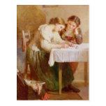 La letra de amor, 1871 tarjeta postal