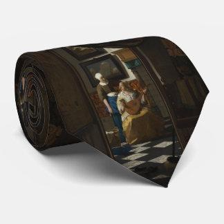 La letra de amor de Juan Vermeer Corbatas Personalizadas