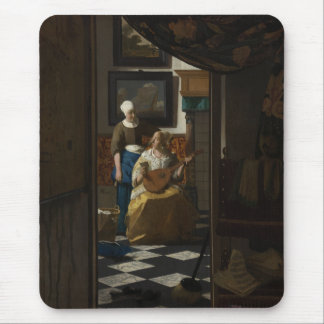 La letra de amor de Juan Vermeer Alfombrillas De Ratón