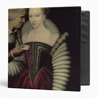 """La letra de amor, señora con su criada carpeta 1 1/2"""""""