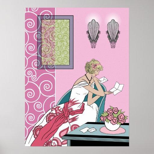 La letra de Clarice - diseño de la moda del art dé Impresiones