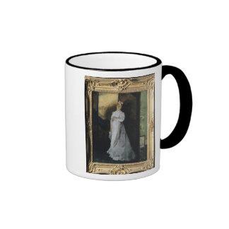 La letra de la desintegración, c.1867 tazas de café