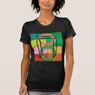 La letra del Het - alfabeto hebreo Tee Shirts