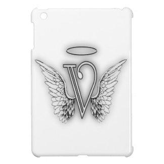 La letra inicial del alfabeto V del ángel se va
