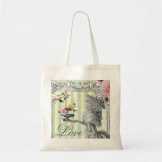 La Lettre D'amour Canvas Bags