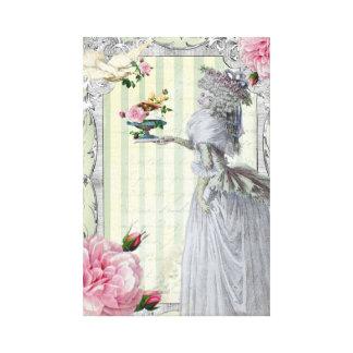 La Lettre D'amour Canvas Prints