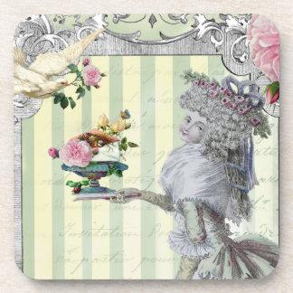 La Lettre D'amour Coasters