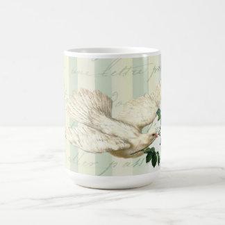 La Lettre D'amour Dove Coffee Mug