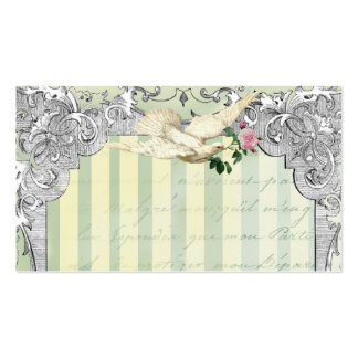 La Lettre D'amour Dove Place Card