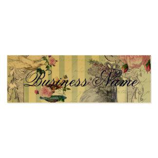 La Lettre D'amour gold Business Cards