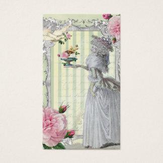 La Lettre D'amour ivory Business Card