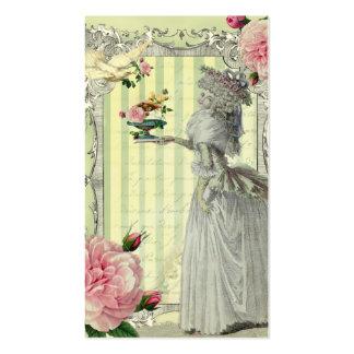 La Lettre D'amour ivory Business Cards