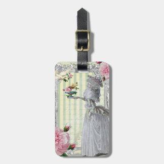 La Lettre D'amour Tag For Bags