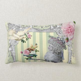 La Lettre D'amour Throw Pillow