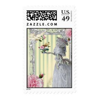 La Lettre D'amour Postage Stamps