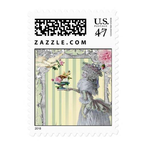 La Lettre D'amour Postage Stamp