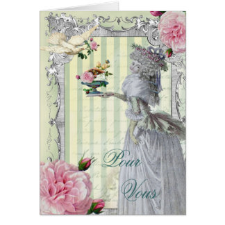 La Lettre D'amour Pour Vous Cards