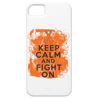 La leucemia guarda calma y sigue luchando iPhone 5 fundas