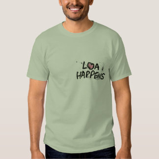 La ley de la atracción sucede camiseta poleras