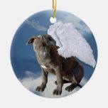 La ley de la caridad, ángel del rescate de la ornamentos de navidad