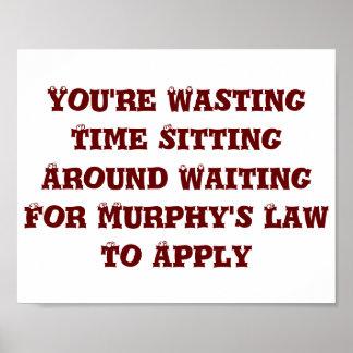 La ley de Murphy Posters