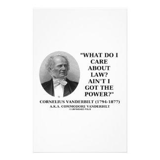 La ley no es yo consiguió el poder (Cornelio Papelería Personalizada