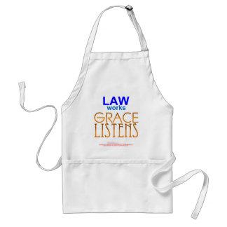 La ley trabaja, tolerancia escucha - 27:1,8 de la delantal