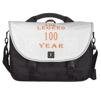 La leyenda 100 años bolsas para ordenador