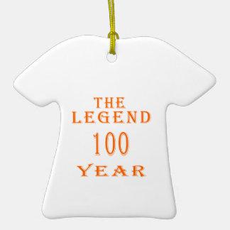 La leyenda 100 años ornamento para reyes magos
