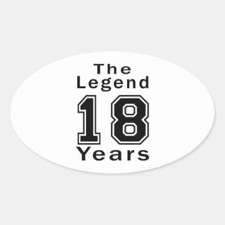 La leyenda 18 años de regalos de cumpleaños