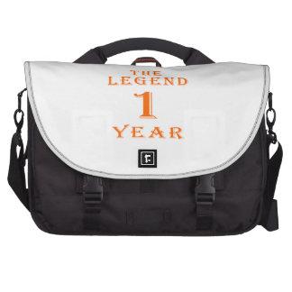 La leyenda 1 año bolsa de ordenador