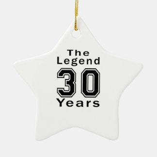La leyenda 30 años de regalos de cumpleaños