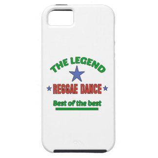 La leyenda de la danza del reggae iPhone 5 carcasa